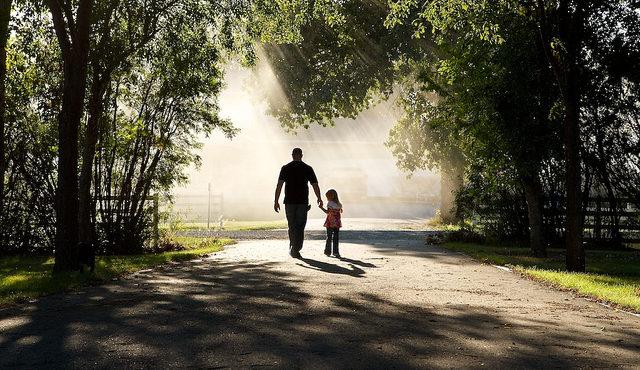 a-walk-with-daddy